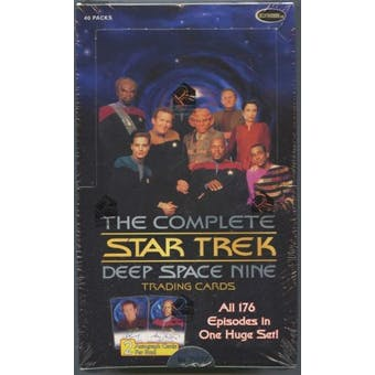 Star Trek Complete Deep Space 9 Trading Cards Box (Rittenhouse 2007)