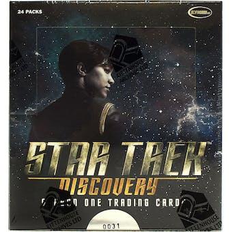 Star Trek Discovery Season 1 Trading Cards Box (Rittenhouse 2019)