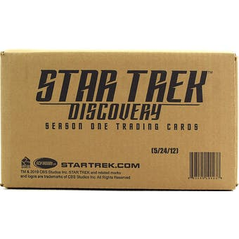 Star Trek Discovery Season 1 Trading Cards 12-Box Case (Rittenhouse 2019)