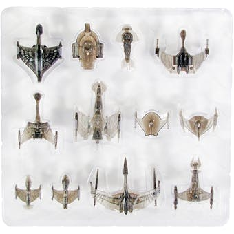 Star Trek Attack Wing Convention Exclusive Cloaked Ships Pack and DS9 Upgrade Card Pack
