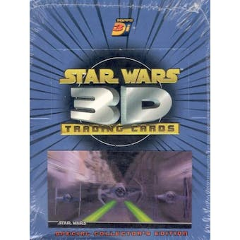 Star Wars 3D Trading Cards Special Collector's Edition Box (1996 Topps)