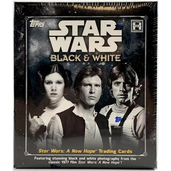 Star Wars: A New Hope Black & White Trading Cards Box (Topps 2018)