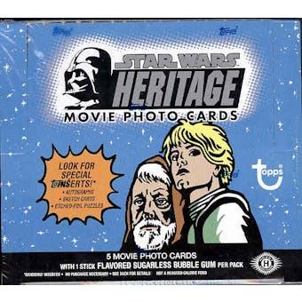 Star Wars Heritage Hobby Box (2004 Topps)