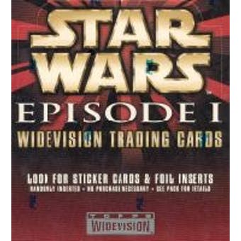 Star Wars Episode I Widevision Trading Card Box (Topps)