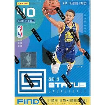 2018/19 Panini Status Basketball 8-Pack Blaster Box (Blue)