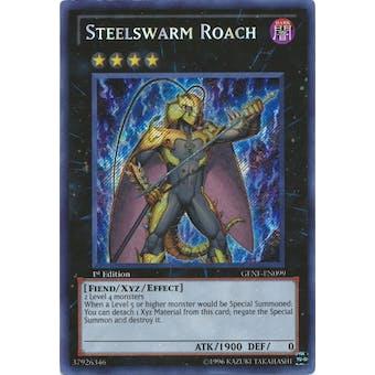 Yu-Gi-Oh Generation Force Single Steelswarm Roach Secret Rare