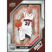 2009/10 Upper Deck Draft Edition #34 Stephen Curry SP Rookie Card