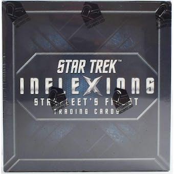 Star Trek Inflexions Starfleet's Finest Trading Cards Box (Rittenhouse 2019)