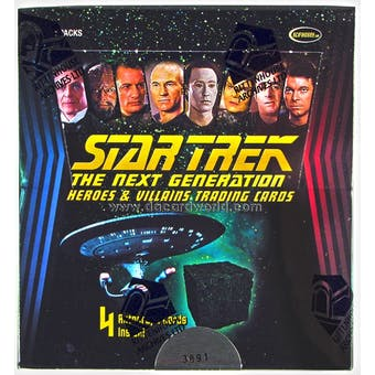 Star Trek: The Next Generation Heroes & Villains Trading Card Box (Rittenhouse 2013)
