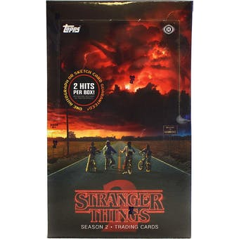 Stranger Things Season 2 Trading Cards Hobby Box (Topps 2019)