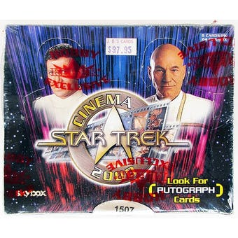 Star Trek Cinema 2000 Box (Fleer/Skybox)