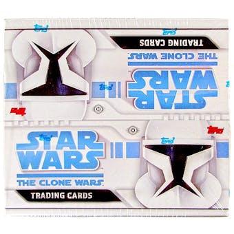 Star Wars Clone Wars Hobby Box (2008 Topps)