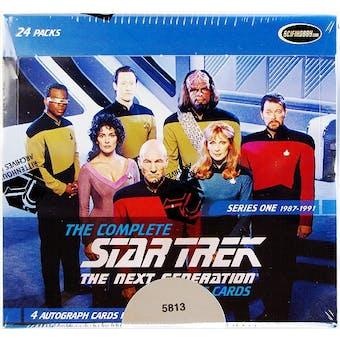 Star Trek The Next Generation Series 1 Trading Cards Box (Rittenhouse 2011)