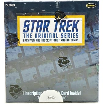 Star Trek The Original Series Archives and Inscriptions Box (Rittenhouse 2020)