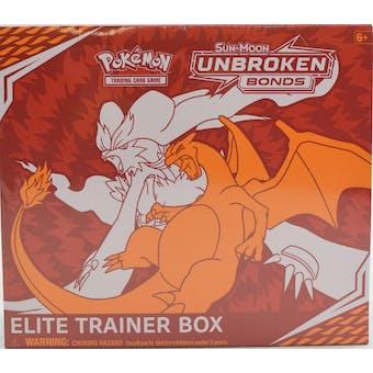 Pokemon Sun & Moon: Unbroken Bonds Elite Trainer Box