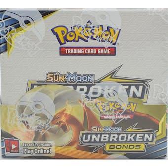 Pokemon Sun & Moon: Unbroken Bonds Booster Box