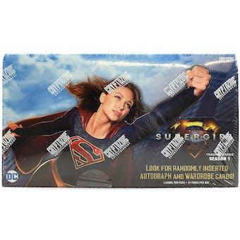 Supergirl Season 1 Trading Cards Hobby Box (Cryptozoic 2018)