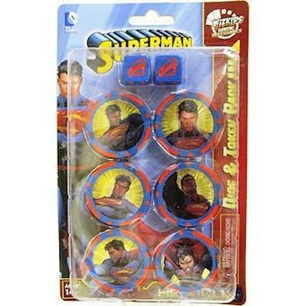 DC HeroClix: Superman Dice & Token Pack