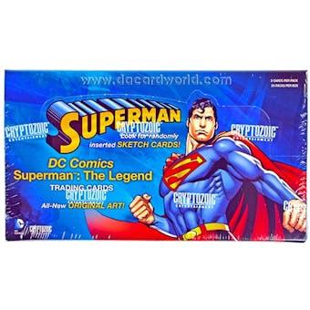 Superman: The Legend Trading Cards Box (Cryptozoic 2013)