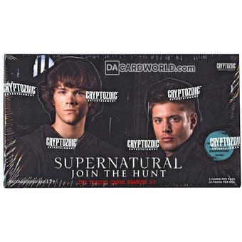 Supernatural Seasons 1-3 Trading Cards Box (Cryptozoic 2014)