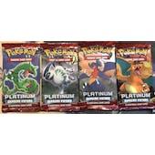 Pokemon Platinum Supreme Victors Booster Pack ART SET UNSEARCHED UNWEIGHED