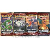 Pokemon Platinum Supreme Victors SINGLE Booster Pack UNSEARCHED UNWEIGHED