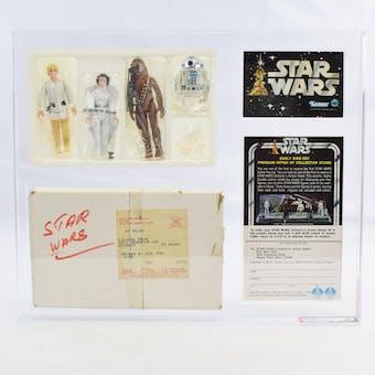 1978 Star Wars Early Bird Set AFA 70 EX+ Double Telescoping Luke