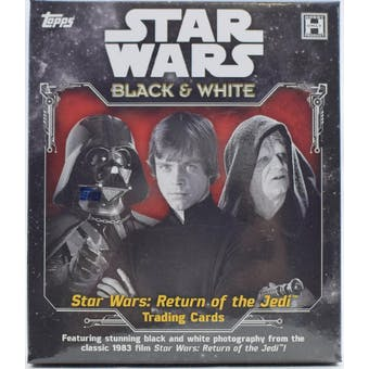Star Wars: Return of the Jedi Black & White Hobby Box (Topps 2020)