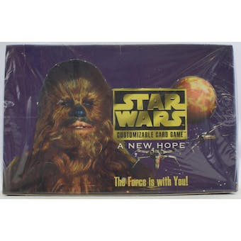 Decipher Star Wars A New Hope Limited Booster Box - Original Black-Bordered Release