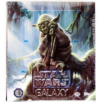 Star Wars Galaxy Series 6 Hobby Box (Topps 2011)