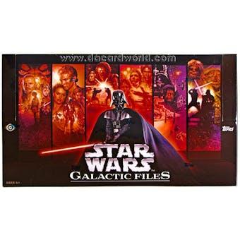 Star Wars Galactic Files Hobby Box (Topps 2012)