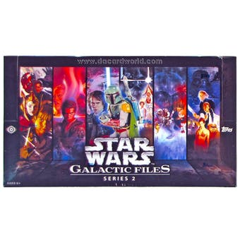Star Wars Galactic Files Series 2 Hobby Box (Topps 2013)