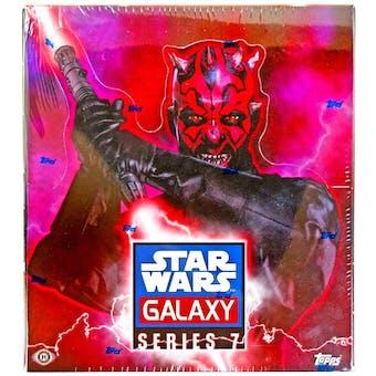 Star Wars Galaxy Series 7 Hobby Box (Topps 2012)