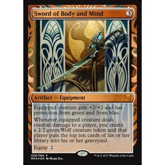 Magic the Gathering Kaladesh Inventions Single Sword of Body and Mind FOIL - NEAR MINT (NM)