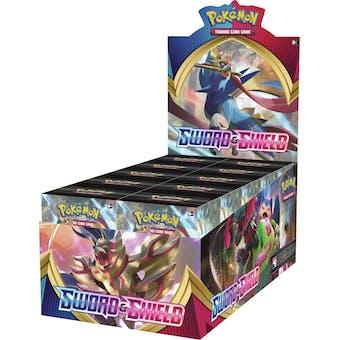 Pokemon Sword & Shield Build and Battle Kit 6-Box Case