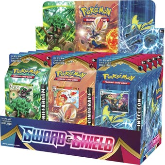 Pokemon Sword & Shield Theme Deck Box (Presell)