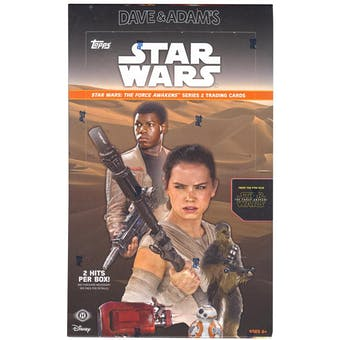 Star Wars: The Force Awakens Series 2 Hobby Box (Topps 2016)
