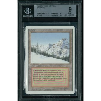 Magic the Gathering 3rd Ed Revised Taiga BGS 9 (8.5, 9, 9.5, 10)
