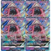 Pokemon Sun and Moon Guardians Rising PLAYSET 4x Tapu Lele GX 60/145 - NEAR MINT (NM)