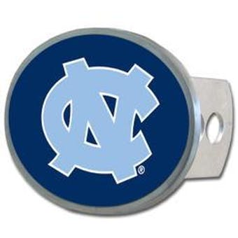 "North Carolina Tar Heels Rico Industries 4 "" Laser Trailer Hitch Cover"