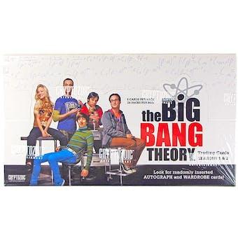 The Big Bang Theory Seasons 1 & 2 Trading Cards Box (Cryptozoic 2012)