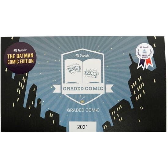 2021 Hit Parade The Batman Graded Comic Edition Series 1- 1-Box- DACW Live 5 Spot Break #1