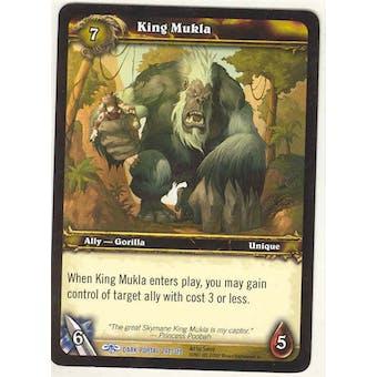 WoW Dark Portal Single King Mukla (TDP-244) NM/MT