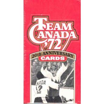 1991/92 Future Trends Team Canada (1972) Hockey Hobby Box