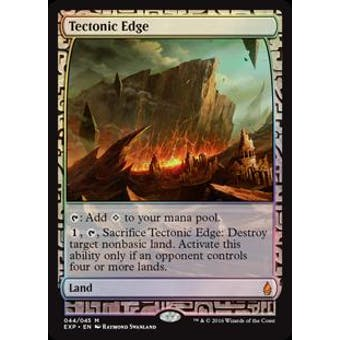 Magic the Gathering Zendikar Expedition Single Tectonic Edge FOIL - NEAR MINT (NM)