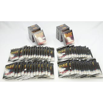 TEMPEST OF THE GODS CCG PACK & DECK LOT - 60 TOTAL ITEMS!! (Reed Buy)