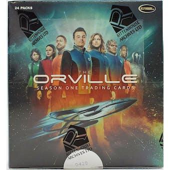 The Orville Season 1 Trading Cards Box (Rittenhouse 2019)