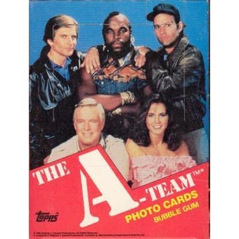 A-Team Wax Box (1983 Topps)