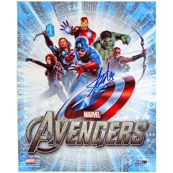 Stan Lee Autographed 8x10 Avengers Assemble Movie Photo