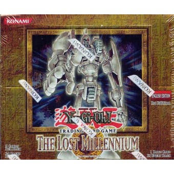 Upper Deck Yu-Gi-Oh Lost Millennium 1st Edition Booster Box